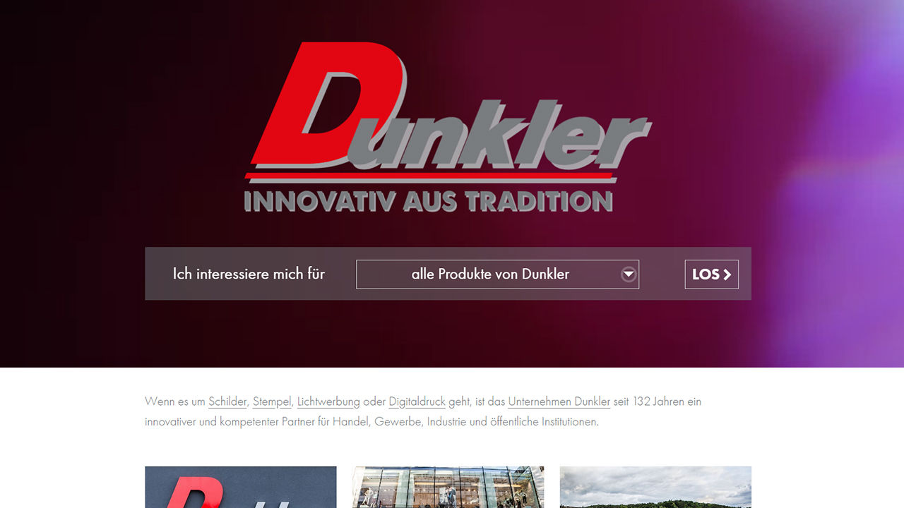 Dunkler - Innovativ aus Tradition